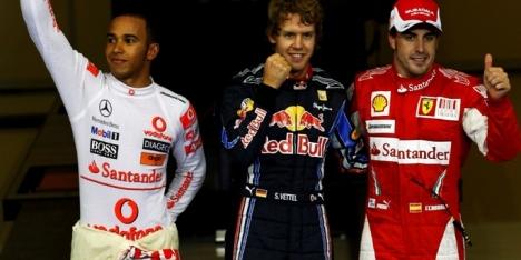 2010年 F1 アブダビGP決勝