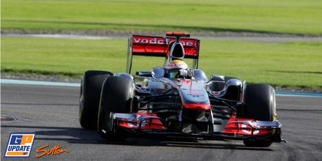 2011年 F1 アブダビGP決勝