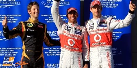 2012年 F1 オーストラリアGP予選