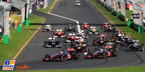 2012年 F1 オーストラリアGP決勝