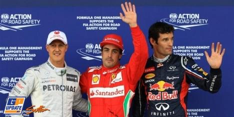2012年 F1 イギリスGP予選