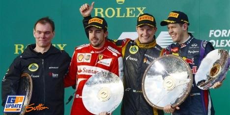 2013年 F1 オーストラリアGP決勝