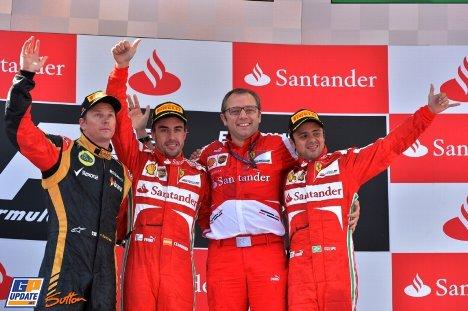 2013年 F1 スペインGP決勝