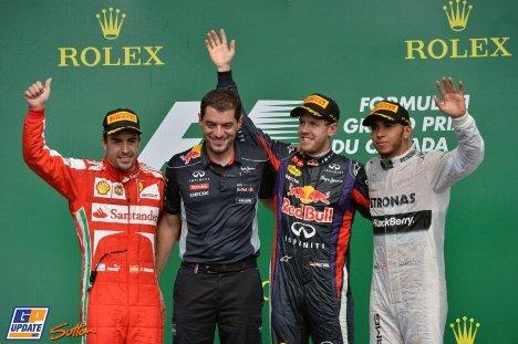 2013年 F1 カナダGP決勝