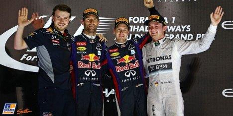 2013年 F1 アブダビGP決勝