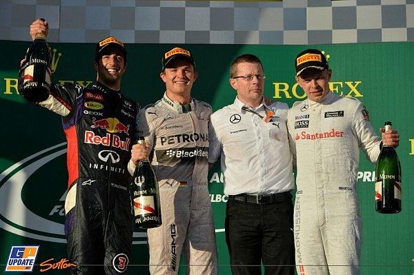 2014年 F1 オーストラリアGP決勝