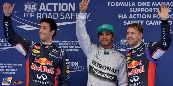 2014年 F1 中国GP予選