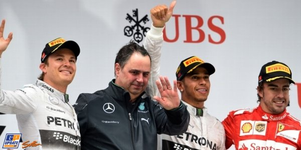 2014年 F1 中国GP決勝