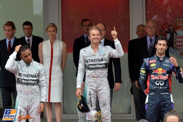 2014年 F1 モナコGP決勝