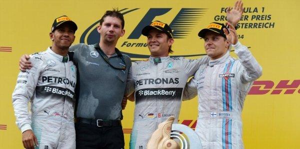 2014年 F1 オーストリアGP決勝