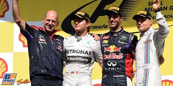2014年 F1 ベルギーGP決勝