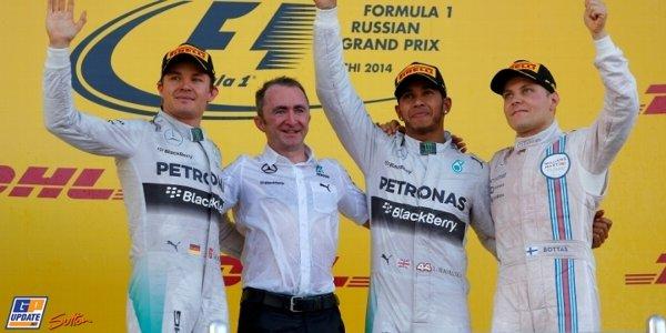 2014年 F1 ロシアGP決勝