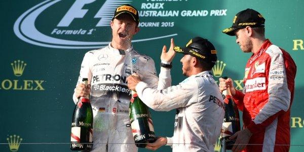 2015年 F1 オーストラリアGP決勝