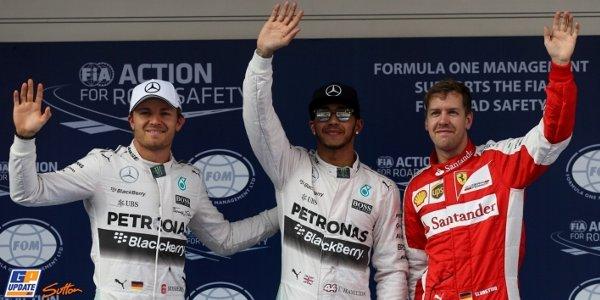 2015年 F1 中国GP予選