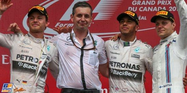 2015年 F1 カナダGP決勝
