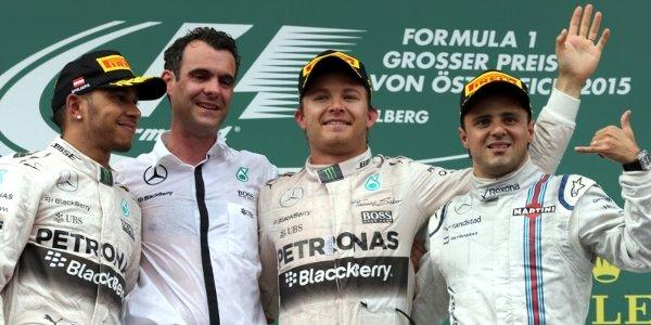 2015年 F1 オーストリアGP決勝