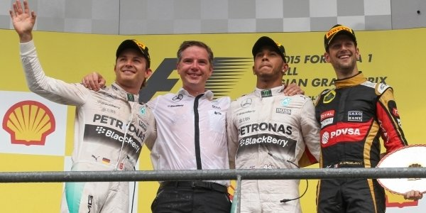 2015年 F1 ベルギーGP決勝