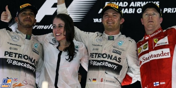 2015年 F1 アブダビGP決勝