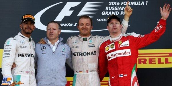 2016年 F1 ロシアGP決勝