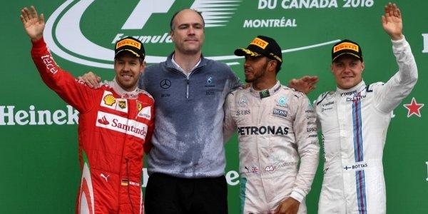 2016年 F1 カナダGP決勝