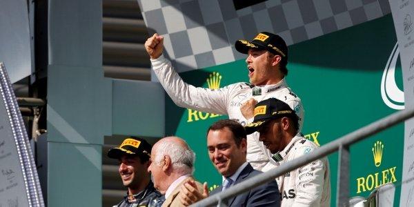 2016年 F1 ベルギーGP決勝