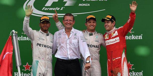 2016年 F1 イタリアGP決勝