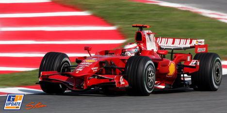 2008年 F1 スペインGP決勝