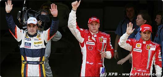 2008年 F1 スペインGP予選