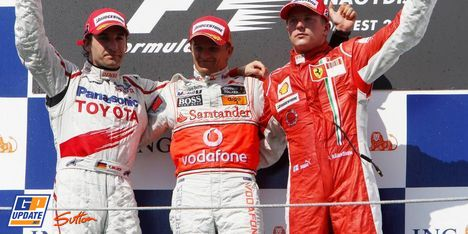 2008年 F1 ハンガリーGP決勝