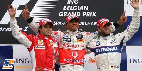 2008年 F1 ベルギーGP決勝