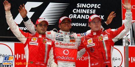 2008年 F1 中国GP決勝