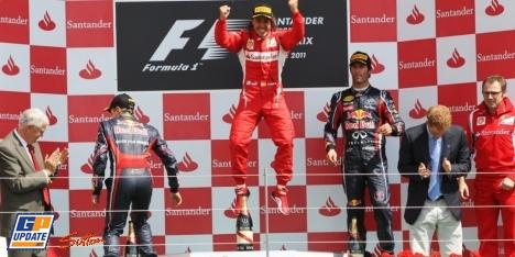 2011年 F1 イギリスGP決勝