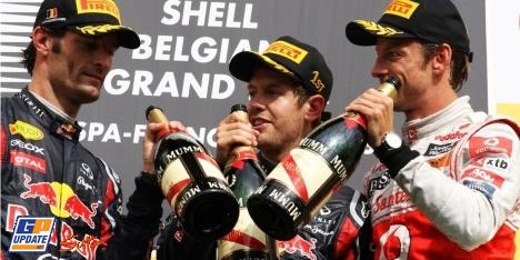 2011年 F1 ベルギーGP決勝