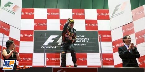 2011年 F1 シンガポールGP決勝