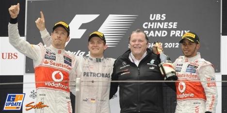 2012年 F1 中国GP決勝