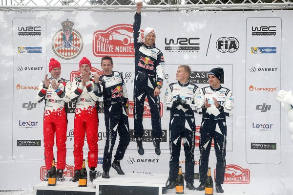 2017年 WRC ラリー・モンテカルロ