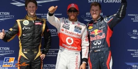 2012年 F1 ハンガリーGP予選