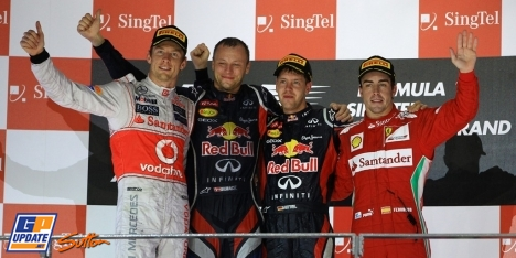2012年 F1 シンガポールGP決勝