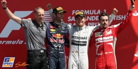 2013年 F1 イギリスGP決勝