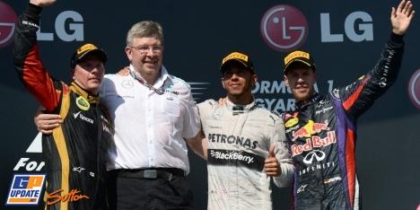 2013年 F1 ハンガリーGP決勝