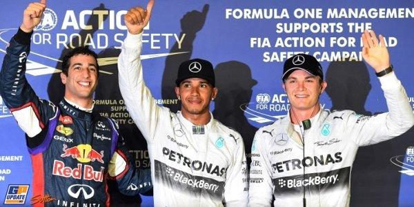 2014年 F1 シンガポールGP予選