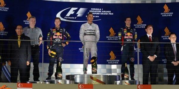 2014年 F1 シンガポールGP決勝