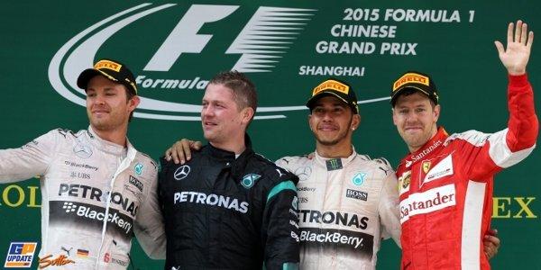 2015年 F1 中国GP決勝