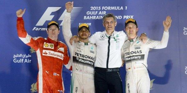 2015年 F1 バーレーンGP決勝