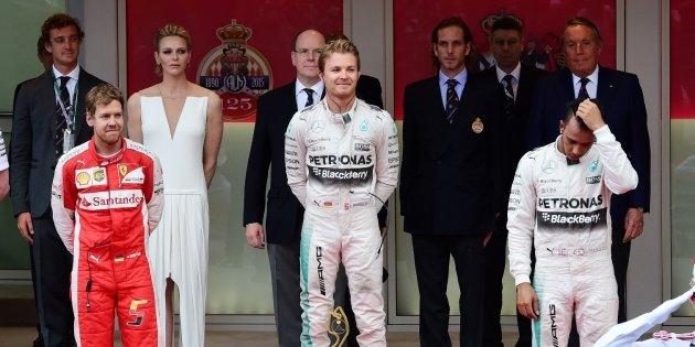 2015年 F1 モナコGP決勝