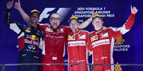 2015年 F1 シンガポールGP決勝