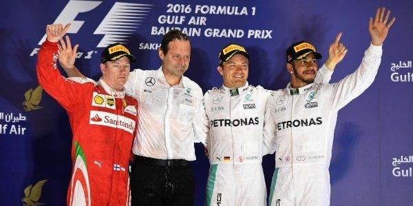 2016年 F1 バーレーンGP決勝