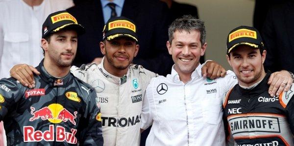 2016年 F1 モナコGP決勝