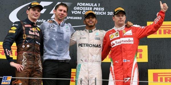 2016年 F1 オーストリアGP決勝