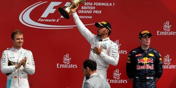 2016年 F1 イギリスGP決勝